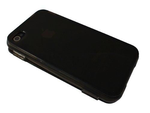 avcibase 4260344982141Skin Coque en TPU pour Apple iPhone 4/4S Noir