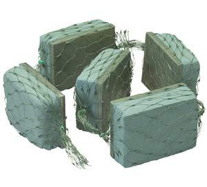 1064 Oasis Sealed Brick Garland, 4 Ft. 5-1/2''L x 4''W x 2''H Bricks - Total 4' Length (1 per Pack, 4 Packs per case)