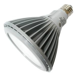 LED - 14 Watt - PAR38 - 75W Equal - 3500 Candlepower - 25 Deg. Narrow Flood - 2700K Warm White - GE 67254