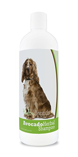 - Healthy Breeds Herbal Avocado Dog Shampoo for Dry Itchy Skin for English Cocker Spaniel  - OVER 200 BREEDS - For Dogs with Allergies or Sensitive Skin - 16 oz