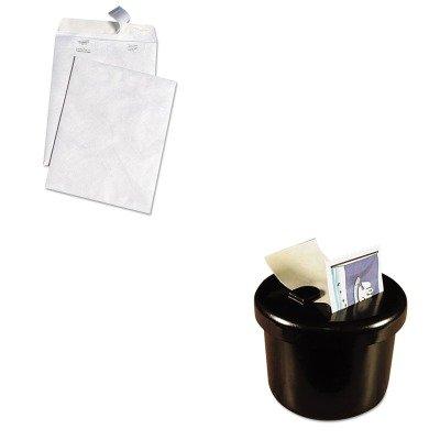 KITLEE40100QUAR3140 - Value Kit - Survivor White Leather Tyvek Mailer (QUAR3140) and Lee Ultimate Stamp Dispenser (LEE40100)