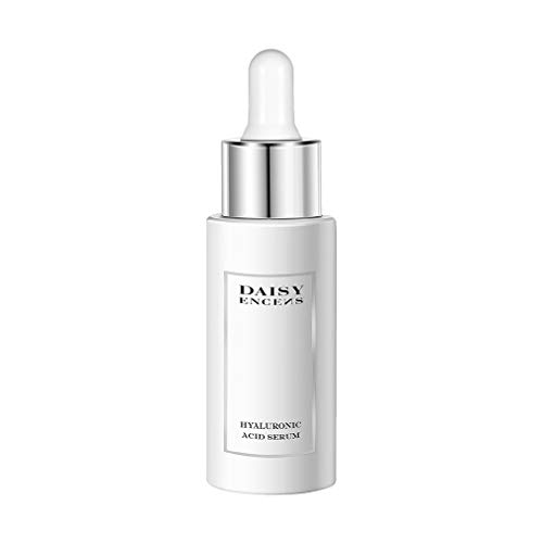 DAISY ENCENS Hyaluronic Acid Serum For Face  Anti Aging Anti Wrinkle Serum Hyaluronic Acid Best Natural Skin Care to Plump Hydrate  Diminish Lines  Wrinkles 14 fl oz
