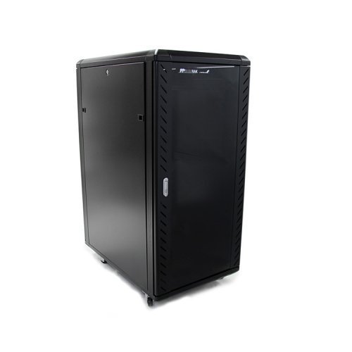 StarTech Accessory RK2536BKF 25U 36inch Knock-Down Server Rack Cabinet with Casters Retail