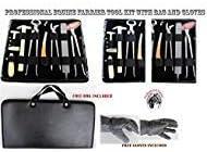 Professional Equine Horse Farrier Tool Kit Grooming Hoof Bot Shoe Puller Nipper Rasp 984109