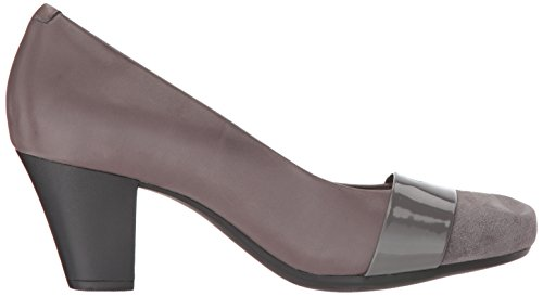 CLARKS Women's Garnit Lucia Dress Pump Grey Leather buy cheap browse in China cheap price dqJIqK
