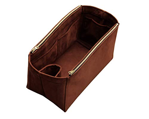 Velvet Purse Insert (Type D+), Light Soft Sturdy, Organize Designers Bag, Keep Tote Bag in Shape Fit Neverfull Speedy Birkin Le Pliage Artsy
