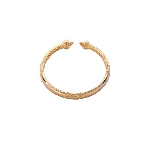 24K Gold Plated High Polished Cuff Engraved Dubai India Gold Bracelets Bangles (India Bracelet Arm)