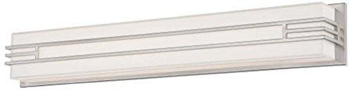 - Minka Lavery 2944-84-L Level Bath Art LED Panel Wall Sconce Lighting, 37.5