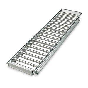 "Unex Span-Trak Deck Track Gravity-Flow Decking - 15"" Wide Track - Fits 48"" Deep Upright Frame"