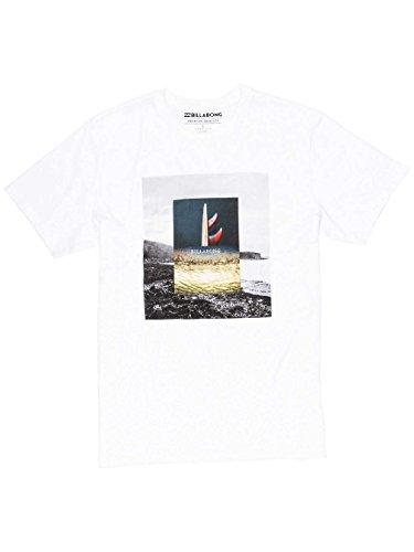 Billabong Frames Tee Ss Camiseta, Hombre Blanco (White)