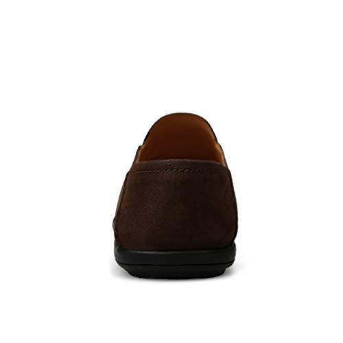 yan Sandals Zapatos Soles Y Slip Leather Spring Comfort 2018 Conducción Mocasines De Un Hombre Light fall ons qx6qBCZRw