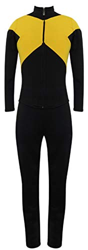 ugoccam Unisex Superhero Suits Jean Grey Full Set Halloween Cosplay Costume ()