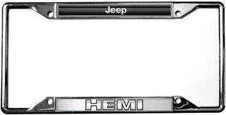 - Jeep Eurosport Daytona- Compatible HEMI License Plate Frame