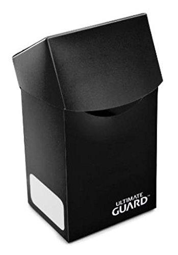 Mini Card Case - Ultimate Guard Deck Box Case (60 Count), Black, Mini