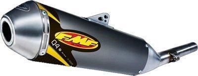 Fmf Q4 Spark Arrestor (FMF Racing Q4 Spark Arrestor Slip-On - Stainless Midpipe , Material: Aluminum 044199)