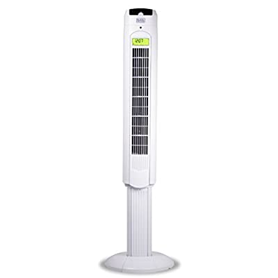 BLACK+DECKER BFTR48W 48 in. Quiet Digital Tower Fan with Remote Control