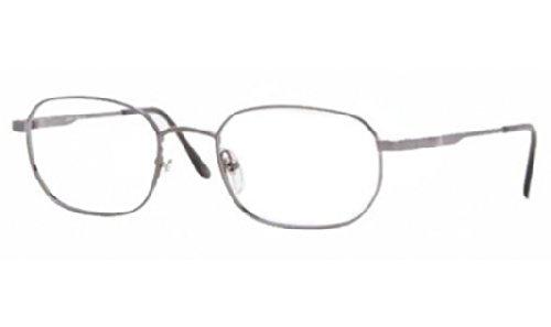 Brooks Brothers Eyeglass Frames - Brooks Brothers BB 222 Eyeglasses Styles Gunmetal Frame w/Non-Rx 52 mm Diameter BB222-1150-52