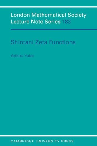 Shintani Zeta Functions (London Mathematical Society Lecture Note Series) (Functions Of The Press In The Society)