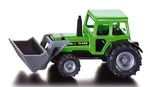 - Tractor With Front End Loader Die-Cast Metal Super Series