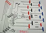 Paintless Dent Repair Removal PDR 50pc Tool set * MADE IN USA- SHIPS FAST! LIFETIME GUARANTEE- SAI: Making tools since 1992