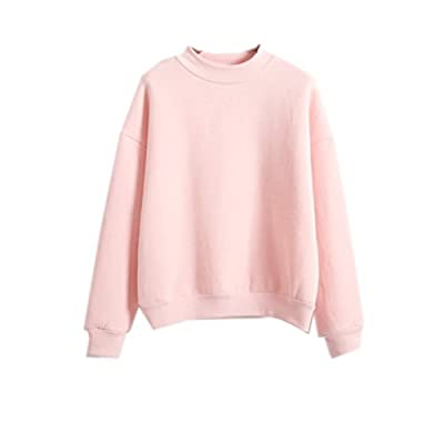 Cheap 2019 Womens Cute Harajuku Pastel Peach Pink Hoodies Sweatshirts supplier