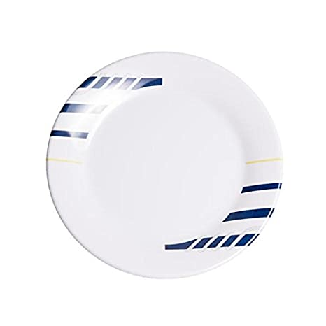 Galleyware Blue Melamine Non-Skid Salad//Dessert Plates Set Of 4