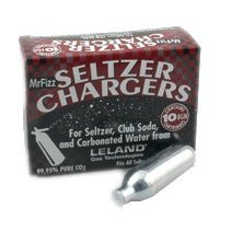 Bulk Case of 600 Mr Fizz 8 Gram Soda Chargers 60 Boxes of 10