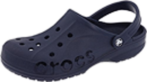crocs Unisex Baya Clog, Navy, 11 M (D) US Men / 13 M (B) US Women (Men Shoes Crocs)