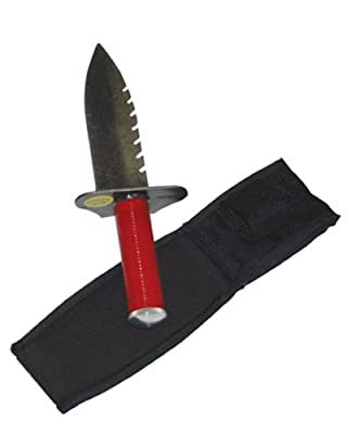 Standard Lesche Digging Tool & Sod Cutter (Right Serrated Blade)
