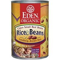 Eden Organic Cajun Rice & Beans, 15-Ounce Cans (Pack of 12) ( Value Bulk Multi-pack)