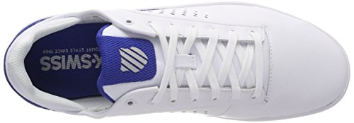White Classic Nova para Blue Zapatillas Court Blanco K Swiss Hombre 8wOTAx0