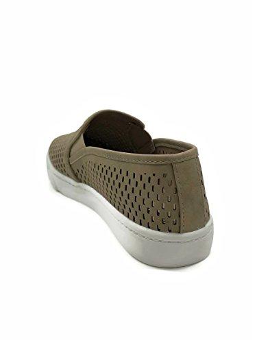 On Womens Dash Closed Sneakers Camel Soda Toe Slip ExZ1Ewd