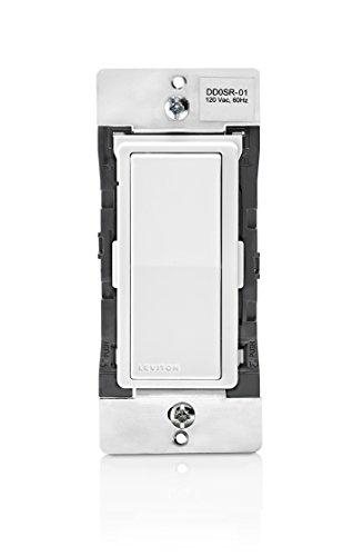 Coordinating Remote - Leviton DD0SR-1Z 120VAC Decora Digital/Decora Smart Coordinating Switch Remote