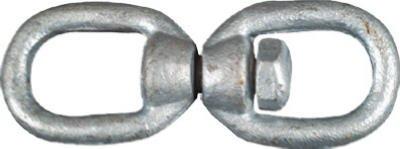 """NATIONAL MFG/SPECTRUM BRANDS HHI N241-075 Galv Swivel Open Link, 1/4"""""""