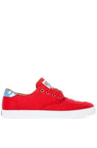 Lakai - Zapatillas de skateboarding de lona para hombre RED / ROT 42.5 EU / 9 US