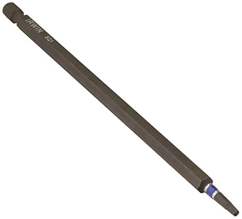 Irwin Tools 1837474 Impact Performance Series Square Recess Power Bit #1, 6