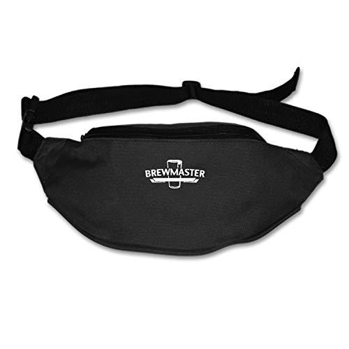 Zhixiap Brewmaster Running Waist Pack Bag Travel Sports Chest Pack for Hiking Climbing Men Women