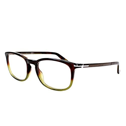1fd0cdd5b Delicado Gucci monturas armazones de gafas anteojos 1112 para hombre  Tortoise Ruthenium/Dark