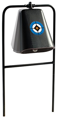 - Do-All Outdoors Steel Cow Bell Shooting Plinking Target Rated for .22 Caliber