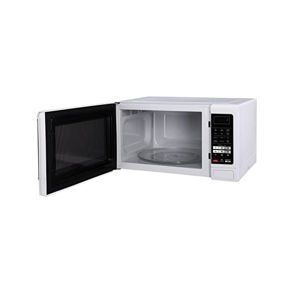 Magic Chef MCM1611W 1100W Oven, 1.6 cu. ft, White Microwave 2