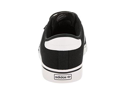 Adidas Heren Seeley Lace Up Schoen Zwart / Zwart / Schoeisel Witte Doek