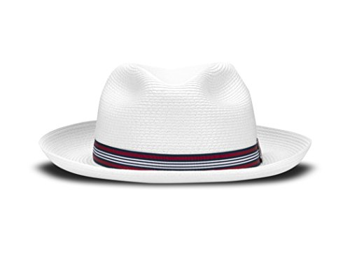 Tilley Endurables TOYO Fedora - White - L by Tilley Endurables
