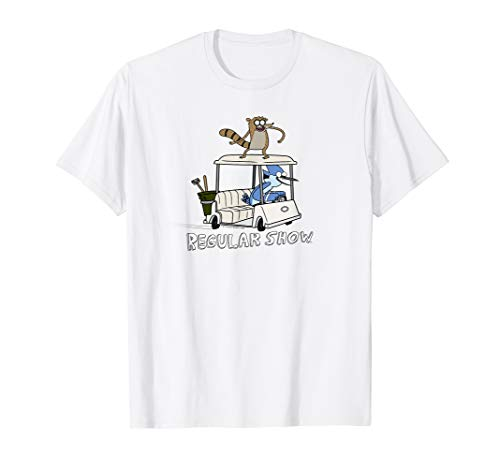 Regular Show Mordecai and Rigby Golf Cart -