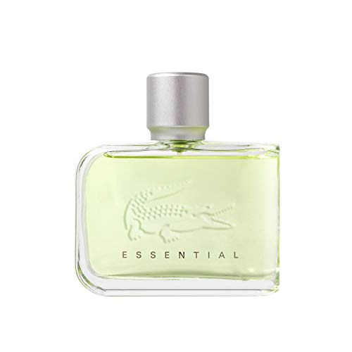 Lacoste Essential Eau de Toilette - Men's Fragrance, 2.5 Fl Oz (Best Lacoste Cologne For Men)