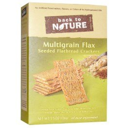 - Back to Nature, Multigrain Flax Seeded Flatbread Crackers, 5.5 oz (156 g)(pack of 3)