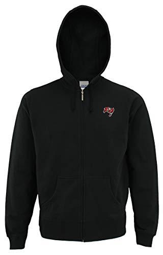 - Reebok NFL Women's Tampa Bay Buccaneers Full Zip Hoodie, Black Medium