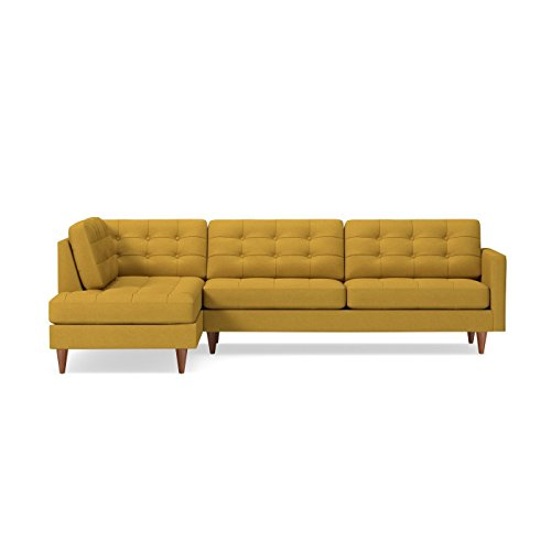 Lexington 2-Piece Sectional Sofa Mustard, LAF - Chaise on Le