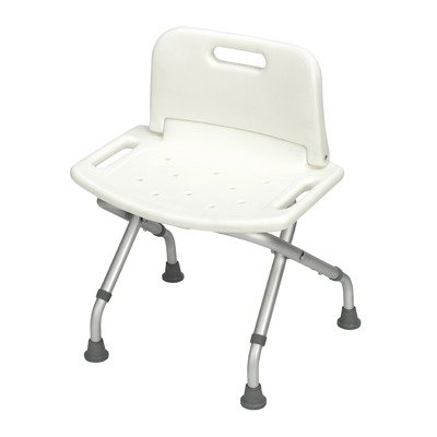 Barriatric Folding Shower Bench with Back ()