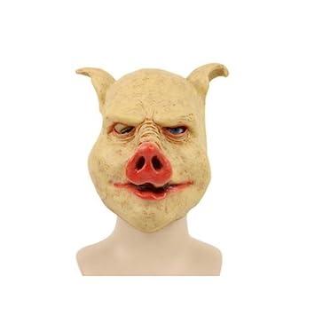Máscara de látex severo de cerdo