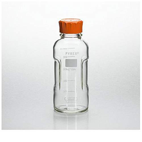 Pyrex Slimline Media Bottle Easy Pour Corning 500ML Glass
